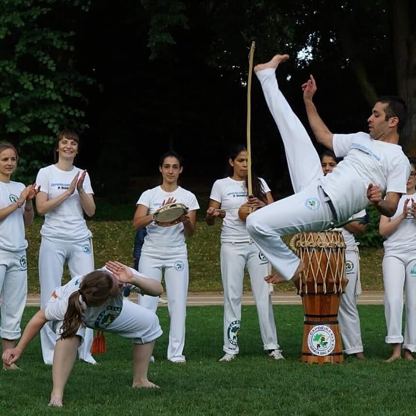 capoeira im quadrat